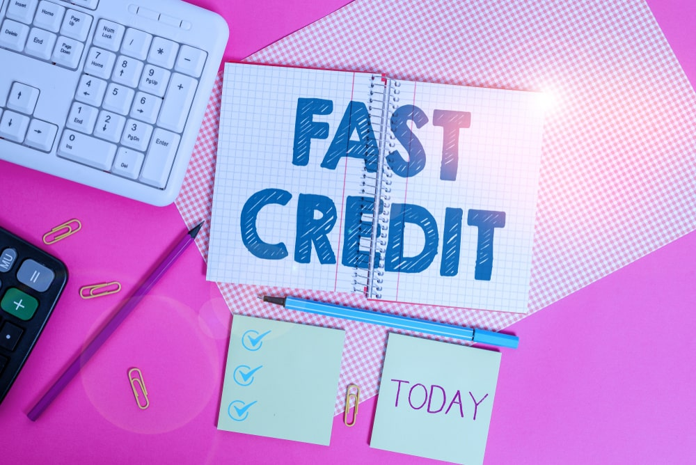 Fast loan credit